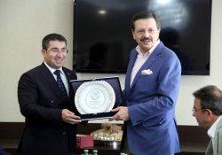 TOBB Başkanı Hisarcıklıoğlu'ndan Vatbo'ya Ziyaret