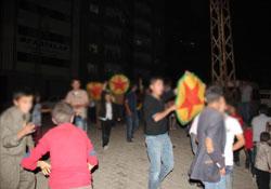 Şemdinli'de 'Ağrı' kutlaması