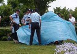 Gezi Parkı'nda ceset bulundu