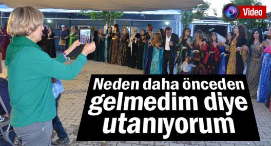 Hakkari'yi gezmeye gelen 35 grup halaylara hayran kaldı