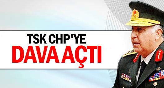 Genelkurmay CHP'ye dava açtı