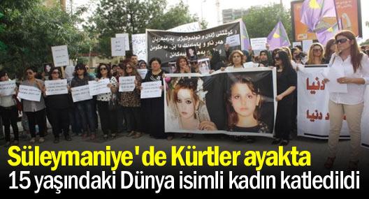 Süleymaniye'de Dünya için eylem