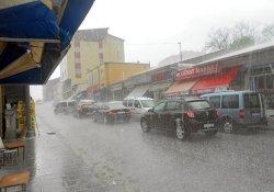 Akom'da 'Yağmur' Alarmı