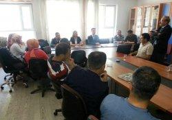 Anadolu Eğitim Sendikası Heyetinin Van Ziyareti