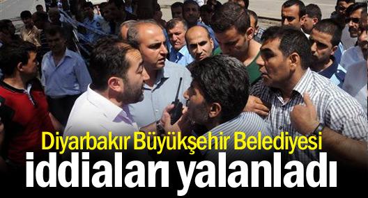 Amed Büyükşehir Belediyesi iddiaları yalanladı