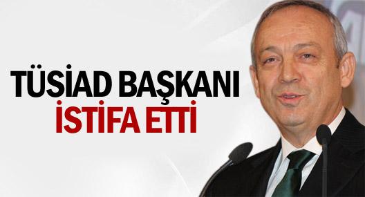 TÜSİAD  Başkanı İstifa Etti