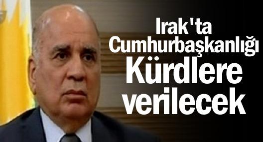Irak Cumhurbaşkanlığı Kürdlere verilecek