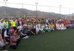 Sason'da Ortaokullar Arası Futbol Turnuvası Finali Yapıldı