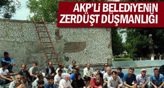 AKP'nin Kurtalan'da 'Zerdüşt düşmanlığı'na tepki