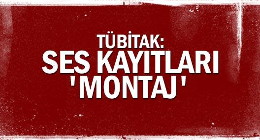 Tübitak, Başbakan'ın Ses Kayıtlarının 'Montaj' Olduğunu Açıkladı