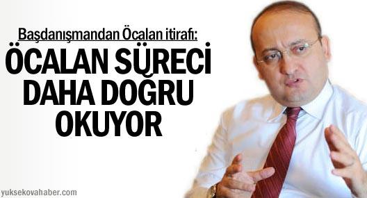 Akdoğan: Öcalan Süreci Daha Doğru Okuyor