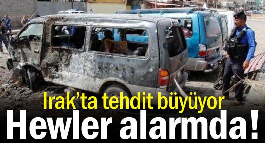 Irak'ta tehdit büyüyor, Hewler alarmda!