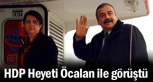 HDP Heyeti Öcalan ile görüştü