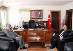 Vali Canbolat'tan Cumhuriyet Başsavcısı'na iadei ziyaret