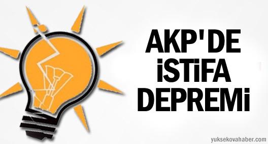 Bitlis'te AKP'nin 5 İlçe Başkanı İstifa Etti