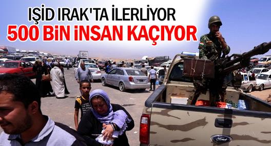 500 bin insan IŞID'den kaçıyor