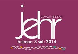 Kürtçe öykü dergisi Jehr'in üçüncü sayısı çıktı