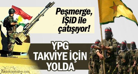 IŞİD ile peşmerge arasında çatışma çıktı, YPG takviye yolladı