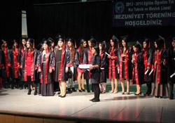 Hakkari Kız Teknik Meslek Lisesi mezuniyet töreni
