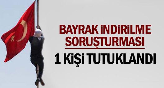 Diyarbakır'da Bayrak İndirilmesiyle İlgili 1 Kişi Tutuklandı