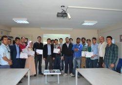 Girişimcilik Programını Tamamlayan 59 Kişiye Sertifikaları Verildi