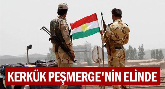Kerkük kenti tamamen Kürt güçlerinin eline geçti