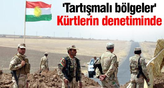 'Tartışmalı bölgeler' Kürtlerin denetiminde