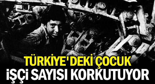 Türkiye'deki Çocuk İşçi Sayısı Korkutuyor
