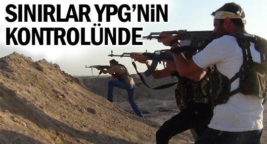 Rojava ve Güney Kürdistan sınırları YPG güvencesinde