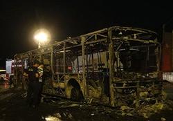 İETT otobüsü yakıldı