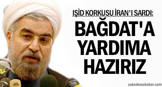 Ruhani: Bağdat'a yardıma hazırız