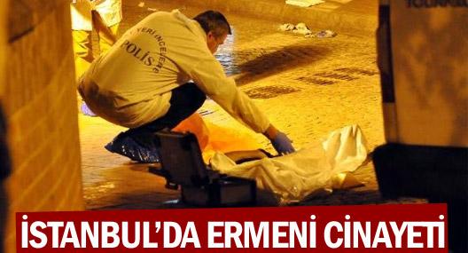 İstanbul'da Ermeni cinayeti