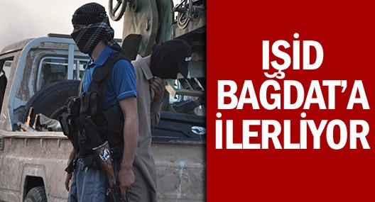 IŞİD 3 koldan Bağdat'a ilerliyor!