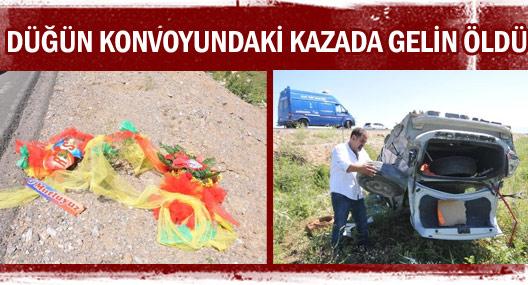 Düğün Konvoyundaki Kazada Gelin Öldü