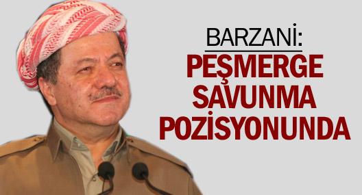 Barzani: Peşmerge savunma pozisyonunda