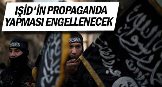 Işid'in internet Üzerinden propaganda yapması engellenecek