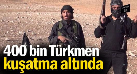 Telafer'de 400 bin Türkmen kuşatma altında
