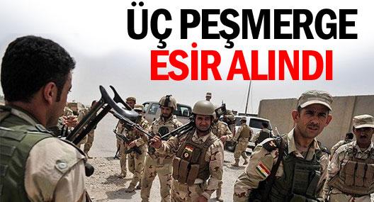 IŞİD üç peşmergeyi esir aldı