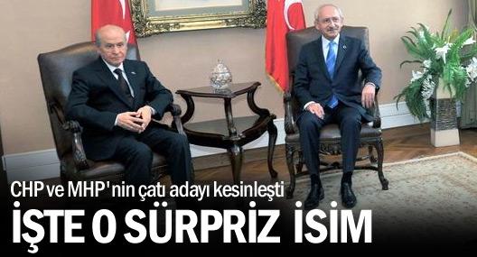 CHP ve MHP'nin çatı adayı Ekmeleddin İhsanoğlu