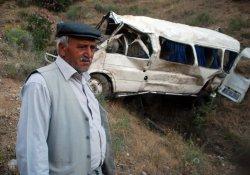 Çalınan Minibüs Bin Metrelik Uçurumdan Atıldı