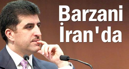 Neçirvan Barzani İran'da