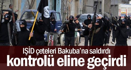 IŞİD çeteleri Bakuba'nın kontrolünü eline geçirdi