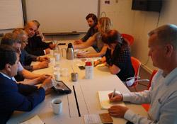 Rojava heyeti Norveç'te