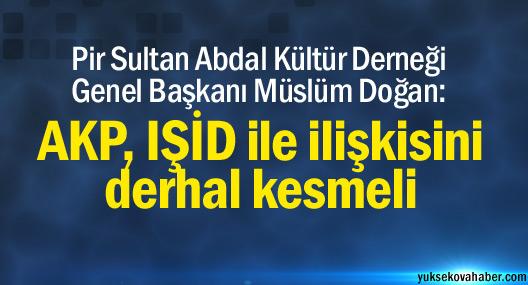 PSAKD: AKP, IŞİD ile ilişkisini derhal kesmeli