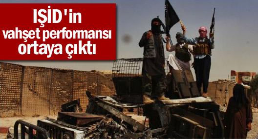 IŞİD'in vahşet performansı ortaya çıktı