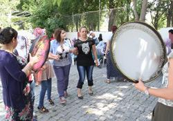 Bismilli kadınlara yıl sonu etkinliği
