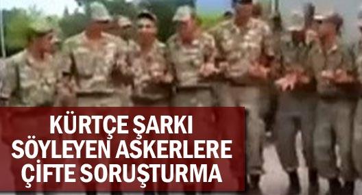 Kışlada Kürtçe Şarkı Söyleyen Askerlere Çifte Soruşturma Açıldı