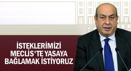 Hdp'li Kaplan: İsteklerimizi Meclis'te Yasaya Bağlamak İstiyoruz
