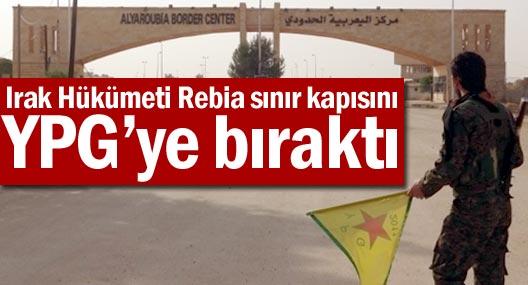Irak Hükümeti Rebia sınır kapısını YPG'ye bıraktı