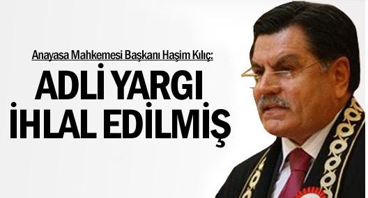 Anayasa Mahkemesi Başkanı Haşim Kılıç: Tek çıkış buydu